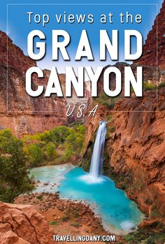 The best views on the Grand Canyon South Rim (USA) with all the information you need to spend even just one day at the Grand Canyon National Park! Includes inspirational photography for your wanderlust! | #USA #GrandCanyon #roadtrip #NationalPark #America #NPS #SouthRim