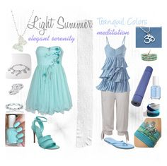 """""""Light Summer Tranquil Colors"""" by julializz ❤ liked on Polyvore featuring мода, Essie, MANDALAY, NIKE, American Eagle Outfitters, FOSSIL, Jools by Jenny Brown, Gianvito Rossi, Tkees и lsu"""