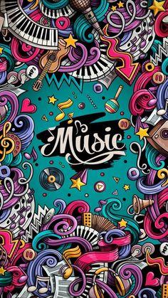 Best Pins Live is part of Graffiti wallpaper - Musik Wallpaper, Pop Art Wallpaper, Galaxy Wallpaper, Cartoon Wallpaper, Wallpaper Doodle, Trendy Wallpaper, Graffiti Wallpaper Iphone, Phone Screen Wallpaper, Cellphone Wallpaper