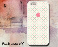iPhone 5 Case iPhone 5S Case  Vintage Polka Dots / by PinkCaseNY, $14.95