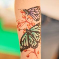 fun #butterfly piece on some crazy but #fun but seriously #insane girls. #trinitytattoovb #trilogytattooco #757 #vabeach #tattoos #piercing #tattooremoval #lynnhaven #7cities #ig757 #tattoo #thickerthanblood #Tattoochurch #butterflytattoo