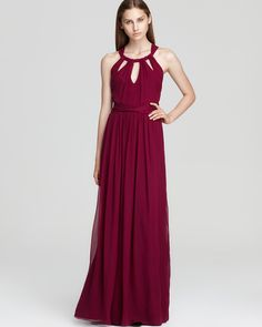 Jay Godfrey Maxi Dress - Schneider Chiffon | Bloomingdale's