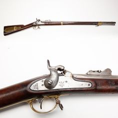 US Model 1841 Mississippi Rifle – While known to collectors as the U.S. Model 1841 Percussion Rifle, in contemporary use this .54 ca longarm acquired its more popular nickname, the Mississippi rifle, from its fine service with troops of a Mississippi regiment during the Mexican War. The patchbox was designed to hold necessary accoutrements and tools, but many soldiers likely found they could add other items that they needed.