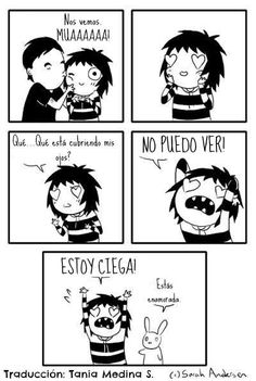 Funny anime comics sarah andersen Ideas for 2019 Bd Comics, Cute Comics, Funny Comics, Funny Cartoons, Anime Comics, Funny Cute, The Funny, Hilarious, Super Funny