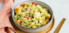 Pasta pesto met kipgehaktballetjes - Lekker en Simpel