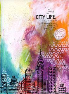 Ronda Palazzari City Life Art Journal