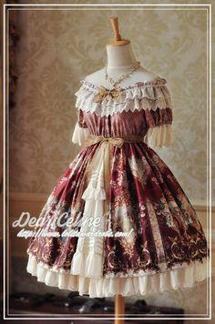DearCeline -Rococo Dream- Classic Lolita OP Dress
