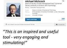 What does Prof. Dr. Michael Hitchcock, Dean of Faculty of Hotel Management and Tourism at Macau University of Science and Technology say about the management thinking mistakes app?