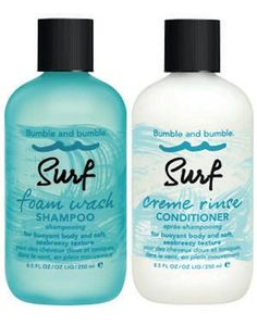 sea salt shampoo by bumble and bumble for beachy hair