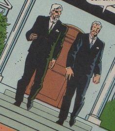 Slade Wilson and William R Wintergreen - DST #36