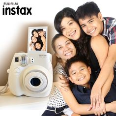 Tell us who is the first person that you think of when you see this #cute Instax camera by Fujifilm? #swag #style #pink