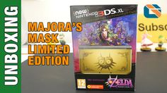 New Nintendo 3DS XL Majora's Mask Edition Unboxing [ http://www.youtube.com/geekanoids ]