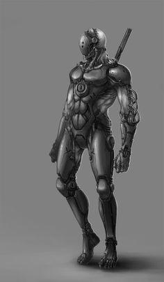 sci fi ninja   Cyborg Ninja by ~ichitakaseto on deviantART