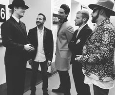 Love the suits boys. And the hats AJ and Nick ❤️ Backstreet Boys Lyrics, Brian Littrell, Kevin Richardson, Trinidad James, Ace Hood, Nick Carter, Funny Tattoos, Celebration Quotes, The Fam