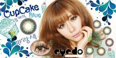 EyeDo Cupcake Fashion Contact Lenses, Cupcakes, Curves, Blue Nails, Cupcake Cakes, Cup Cakes, Muffin, Cupcake