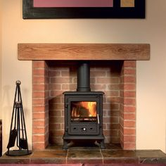 Firefox 5 Multifuel / Woodburning Stove - Multi Fuel Stoves - All Stoves - Stoves Are Us- lovely!