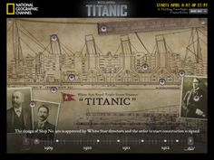 Building Titanic for iPad - by National Geographic Society (AND IT IS FREE!)