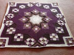 Fabulous crochet afghan.  Just gorgeous!