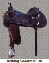 Jerry Shaw Reining Saddle: RS-38