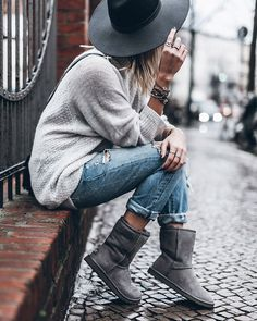 How to wear Uggs - Ugg outfit ideas