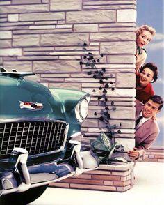 Chevy 1955 Bel Air Advertisement