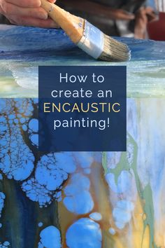 Learn how to create your own stunning works of art with wax from Master Encaustic Painter, Alicia Tormey. The Learn To Burn online course is suitable for all skill levels. Wax Art, Guache, Acrylic Painting Tutorials, Encaustic Painting, Art Techniques, Art Tutorials, Art Paintings, Painting Art, Lino Prints
