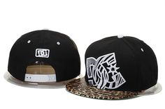 Leopard DC Snapback Hats Black|only US$20.00 - follow me to pick up couopons.