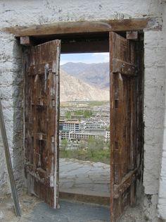 A world beyond . Lhasa