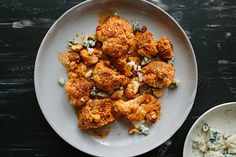 Find the recipe for Buffalo Cauliflower and other cauliflower recipes at Epicurious.com