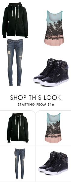"""Charlie S2x45"" by axouille-du ❤ liked on Polyvore featuring Billabong, rag & bone and Pastry"