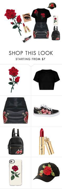 """""""Untitled #270"""" by iraqlovegirl ❤ liked on Polyvore featuring Vans, Casetify and Charlotte Russe"""