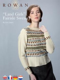 Land Girl's Fairisle Sweater free pattern ♥ 4000 FREE patterns to knit ♥ http://pinterest.com/DUTCHYLADY/share-the-best-free-patterns-to-knit/