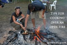 Campfire cooking recipes and ideas for cooking over an open hearth. ** See more at the photo link