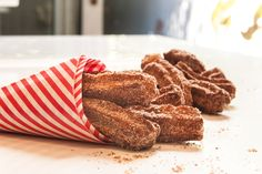 Churros with Cinnamon and Sugar The Finer Cookie
