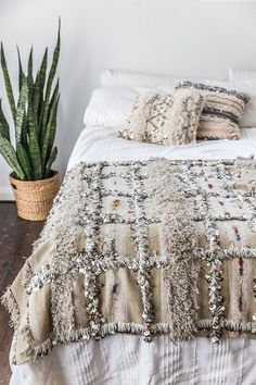 'Soumia' Wedding Blanket from Souk & Co. www.soukandco.com
