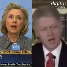 The Clinton denial machine is fully operational.