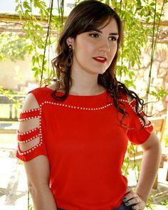 Blusa detalhe bordado!! #iniciala #inicialalovers #summercollection #irresistível