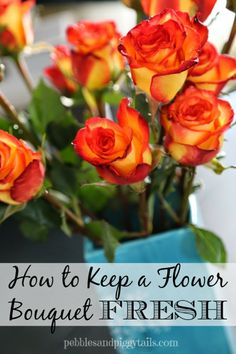 How To Keep A Flower Bouquet Fresh