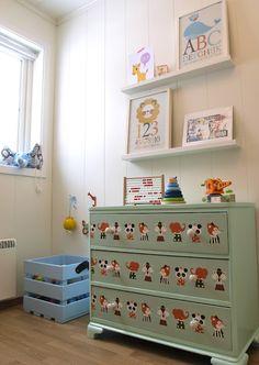decals on children furniture