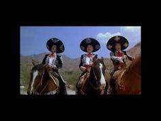 THREE AMIGOS!!  Great Movie, check out this video clip...this was filmed at Old Tucson Studios in in beautiful Tucson, Arizona!  There were 100's of movies filmed here over the years including many John Wayne classics!  A fantastic place that you can visit today!! YouTube