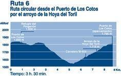 Ruta circular desde el Puerto de loa Cotos por el arroyo dd la Hoya del Toril