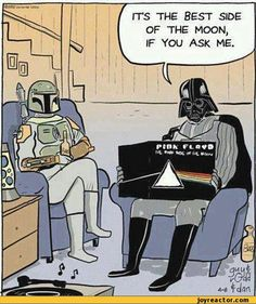 It's the best side of the moon, if you ask me.