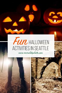 Fun Halloween activities in Seattle. If you are looking for things to do during fall in Seattle, make sure these things to do or Halloween are on your list. It has everything from haunted houses, corn mazes, Halloween shows, pumpkin patches, trick or treating, and more! Fun Halloween Activities, Halloween Fun, Seattle Travel, Like A Local, Pacific Northwest, North West, Kayaking, Adventure, Kayaks