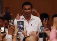 Presidente de Filipinas mataba personalmente a delincuentes, según revela
