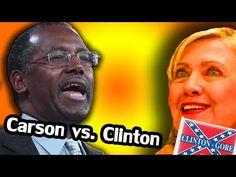 Ben Carson vs. Hillary Clinton | Electoral College, 2016 - YouTube Ben Carson, Ronald Reagan, Economic Development, College, Music, Youtube, Musica, University, Musik