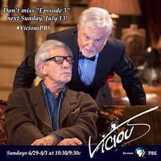 Thanks for watching #ViciousPBS w/ us! Next week, see Freddie (@IanMcKellen) prepare for an important audition. pic.twitter.com/fP3DsKNKeC