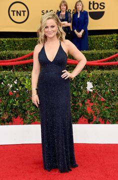 Amy Poehler Pregnant? Fans React After 2015 SAG Awards RedCarpet