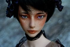 A woman of winter by dev kimiko, via Flickr