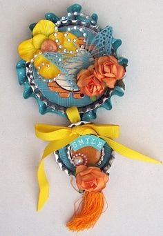1000 images about bottle cap crafts on pinterest bottle for Creative ideas with bottle caps
