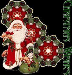 Gif animata Babbo Natale